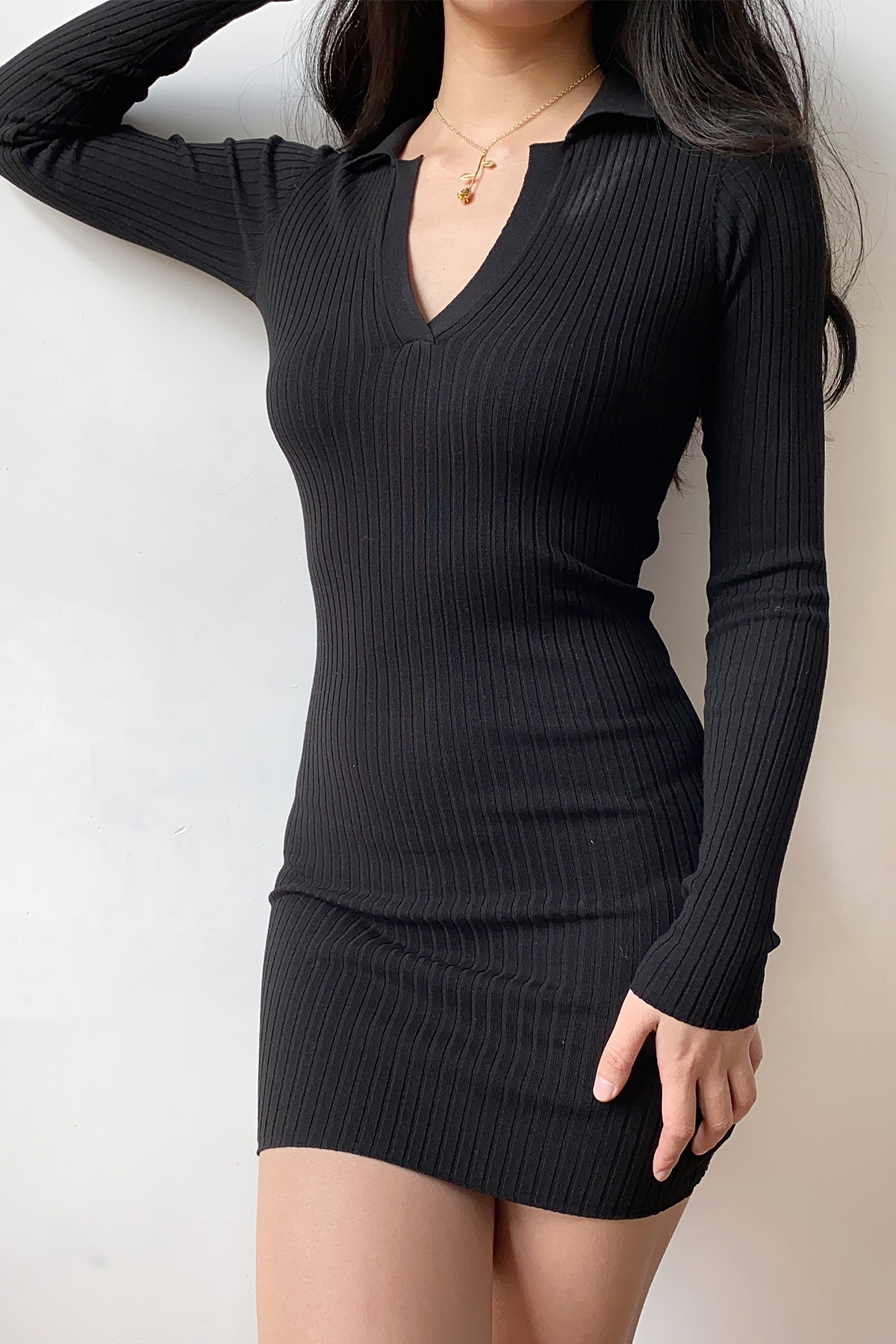THE MOODSS Armand Mini Dress-1
