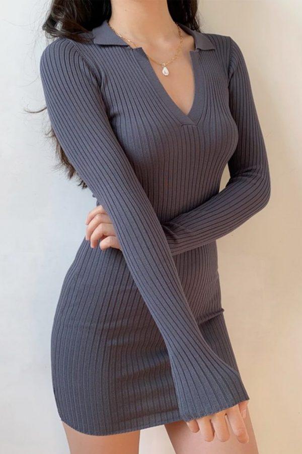THE MOODSS Armand Mini Dress-3