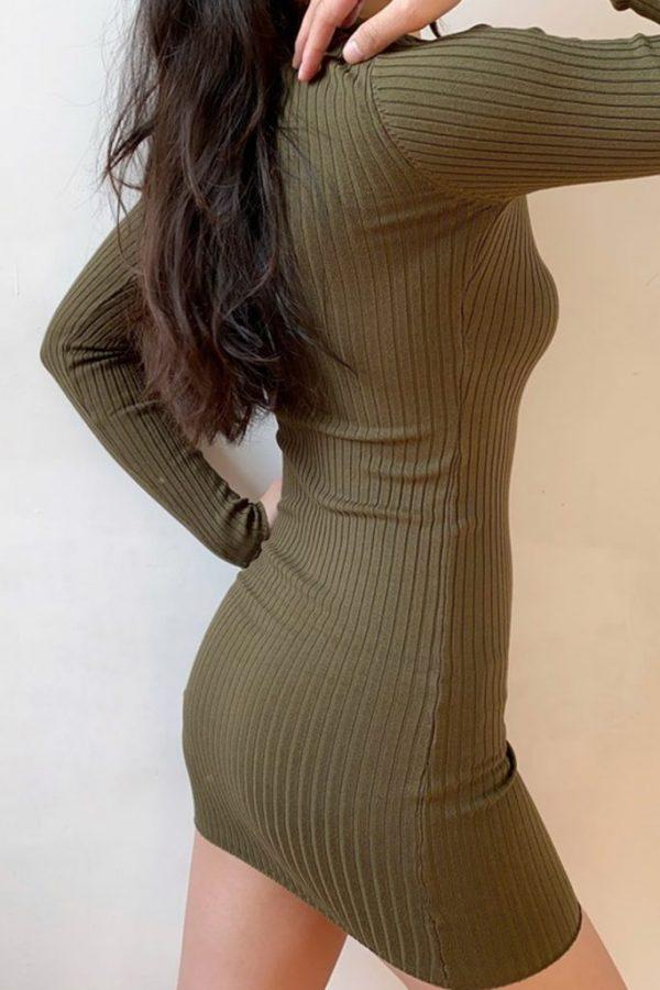THE MOODSS Armand Mini Dress-4