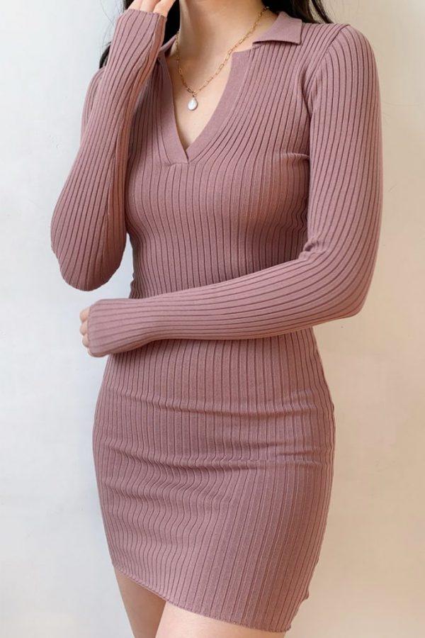 THE MOODSS Armand Mini Dress-5