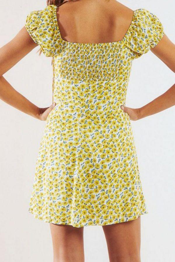 THE MOODSS Basil Mini Dress-7