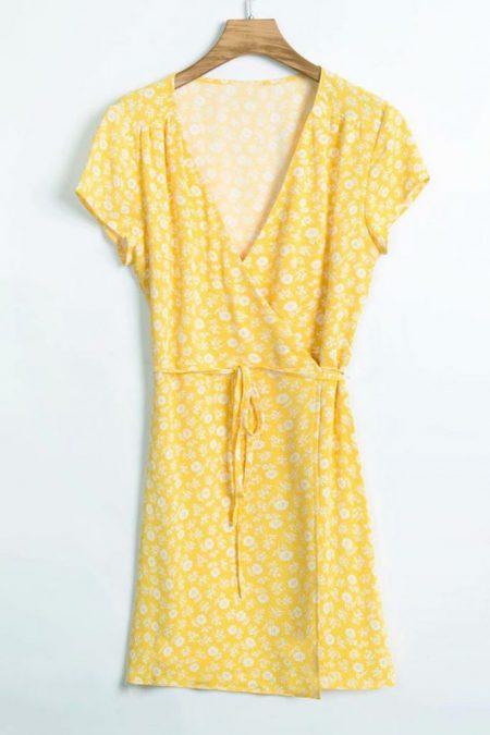 THE MOODSS Rafe Mini Dress-1