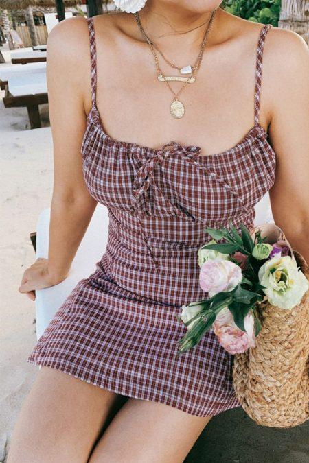 THE MOODSS Blanche Mini Dress-1
