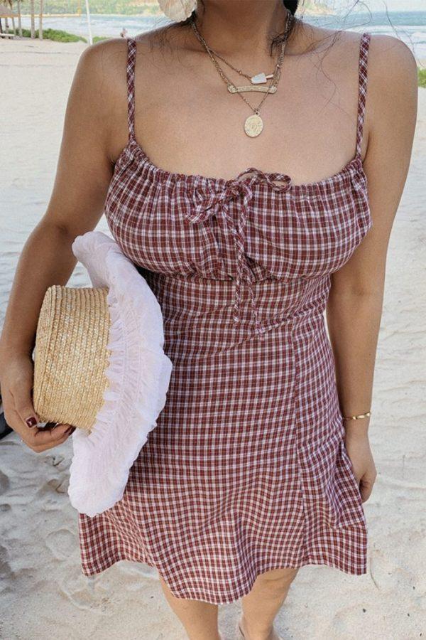 THE MOODSS Blanche Mini Dress-2
