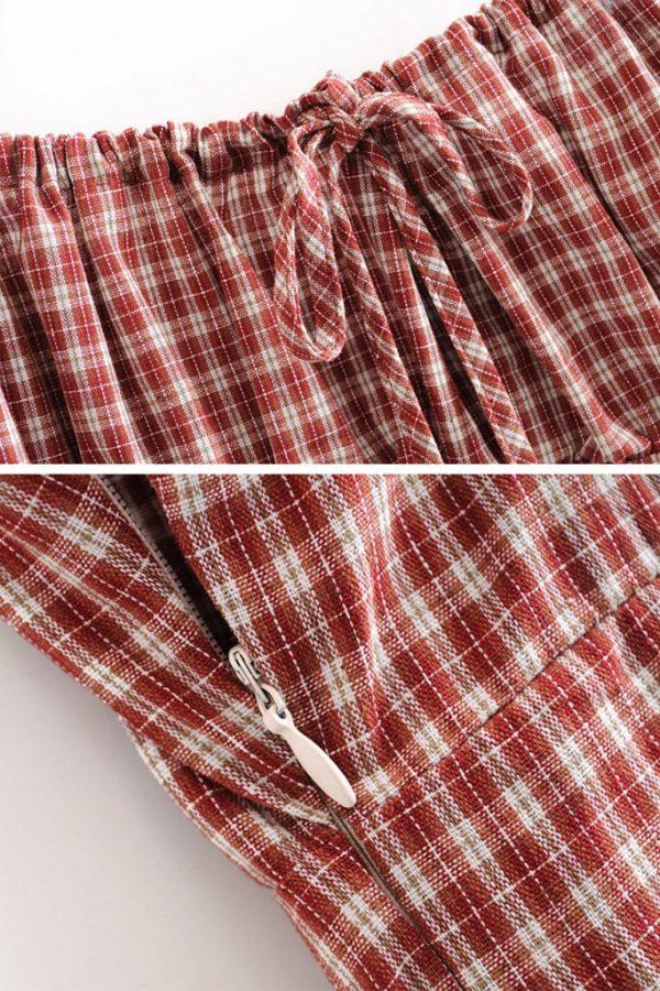 THE MOODSS Blanche Mini Dress-5
