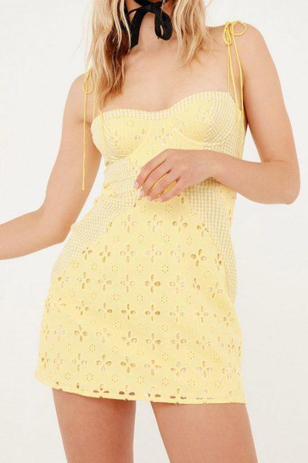 THE MOODSS Clarissa Mini Dress-1