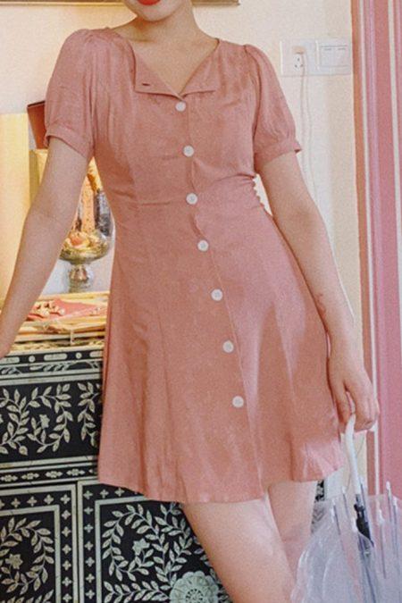 THE MOODSS Flint Mini Dress-1