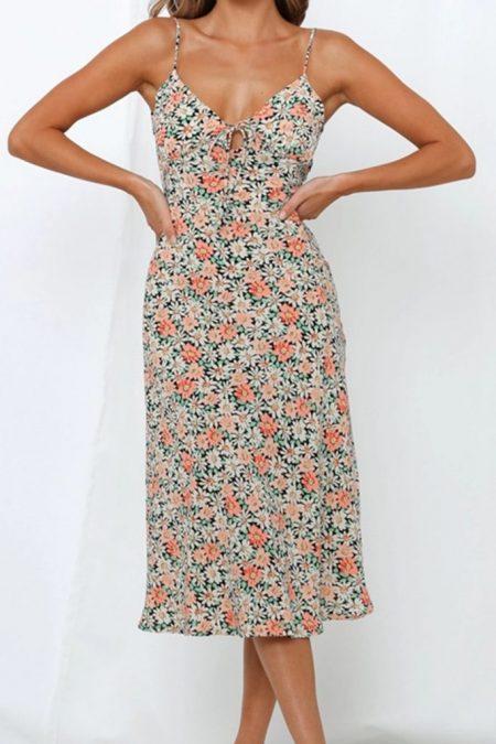 THE MOODSS Florentina Midi Dress-1