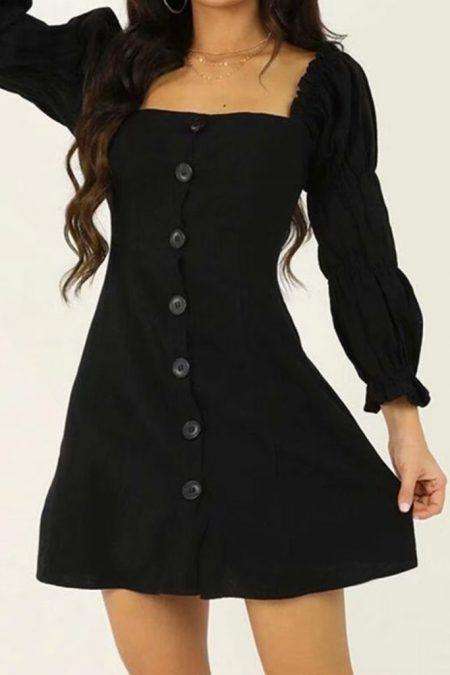 THE MOODSS Galla Mini Dress-1