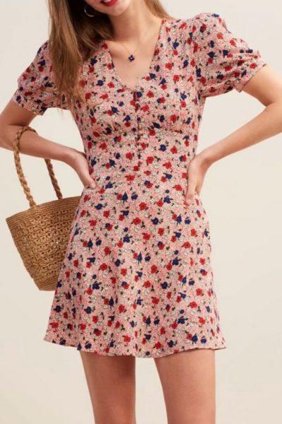 Lavinia Mini Dress In 2 Colors