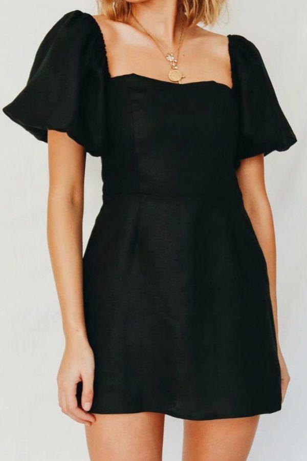 THE MOODSS Marisol Mini Dress-4