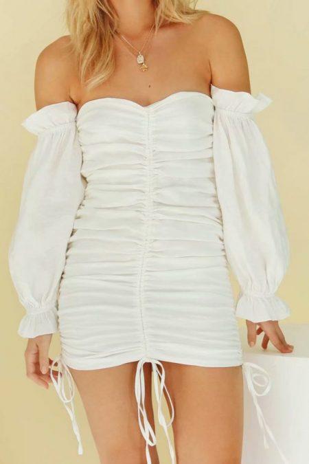 THE MOODSS Nadine Mini Dress-1