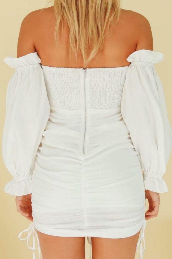 THE MOODSS Nadine Mini Dress-2