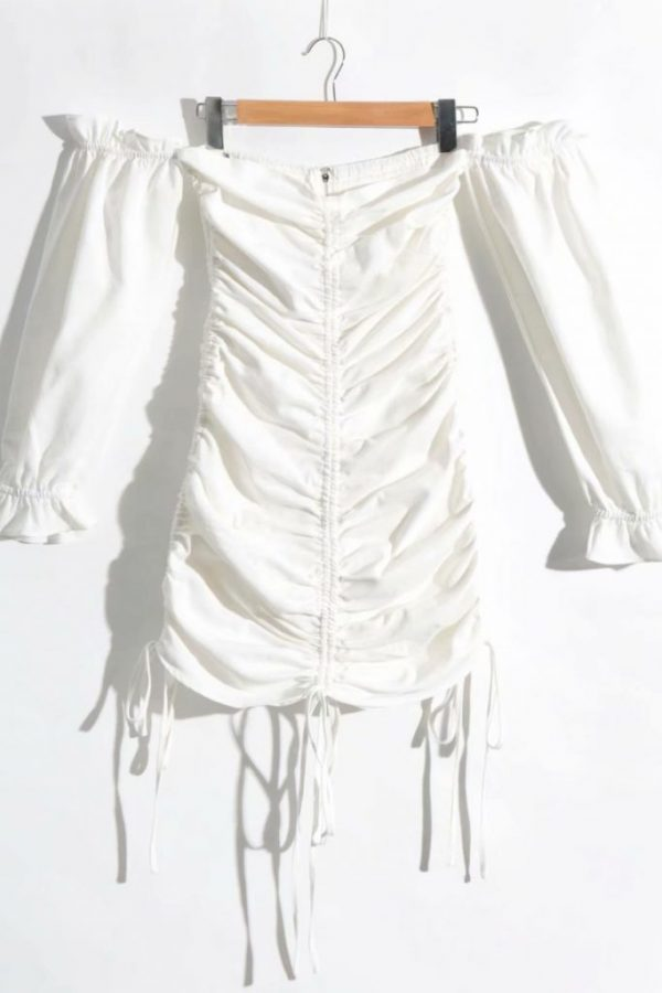 THE MOODSS Nadine Mini Dress-4