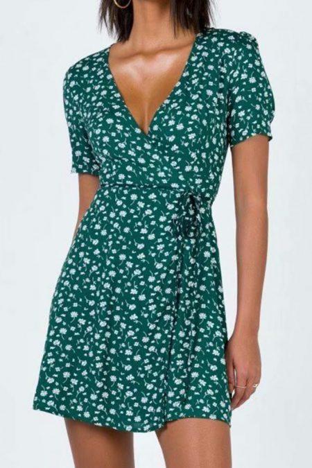THE MOODSS Nyla Mini Dress-1