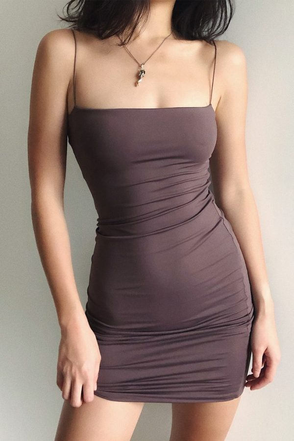 THE MOODSS Quintia Mini Dress-1