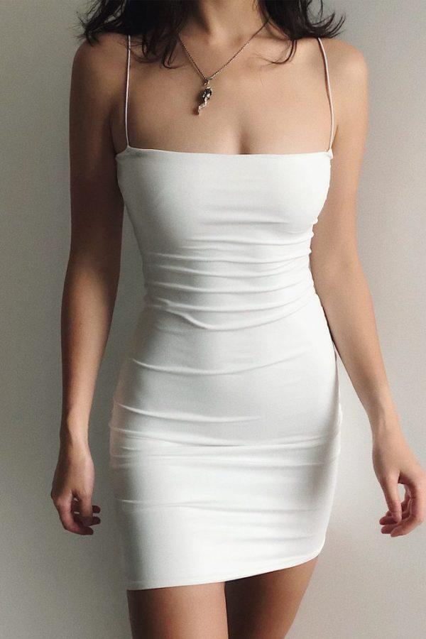 THE MOODSS Quintia Mini Dress-2