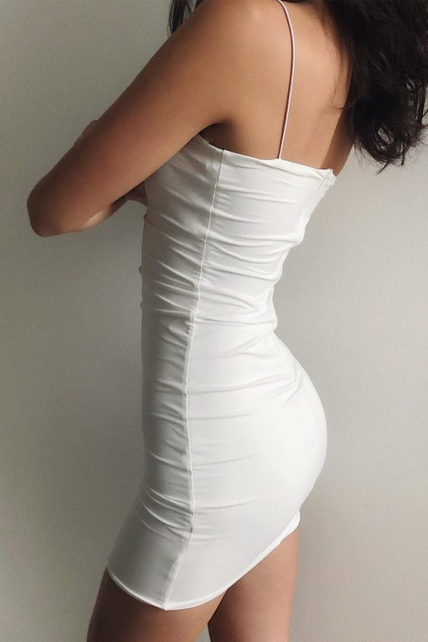 THE MOODSS Quintia Mini Dress-3