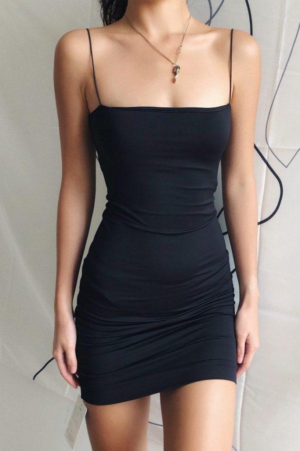 THE MOODSS Quintia Mini Dress-5