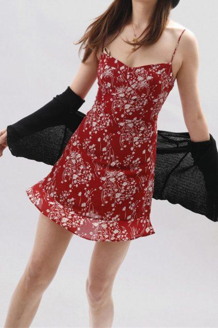 THE MOODSS Kit Mini Dress-4