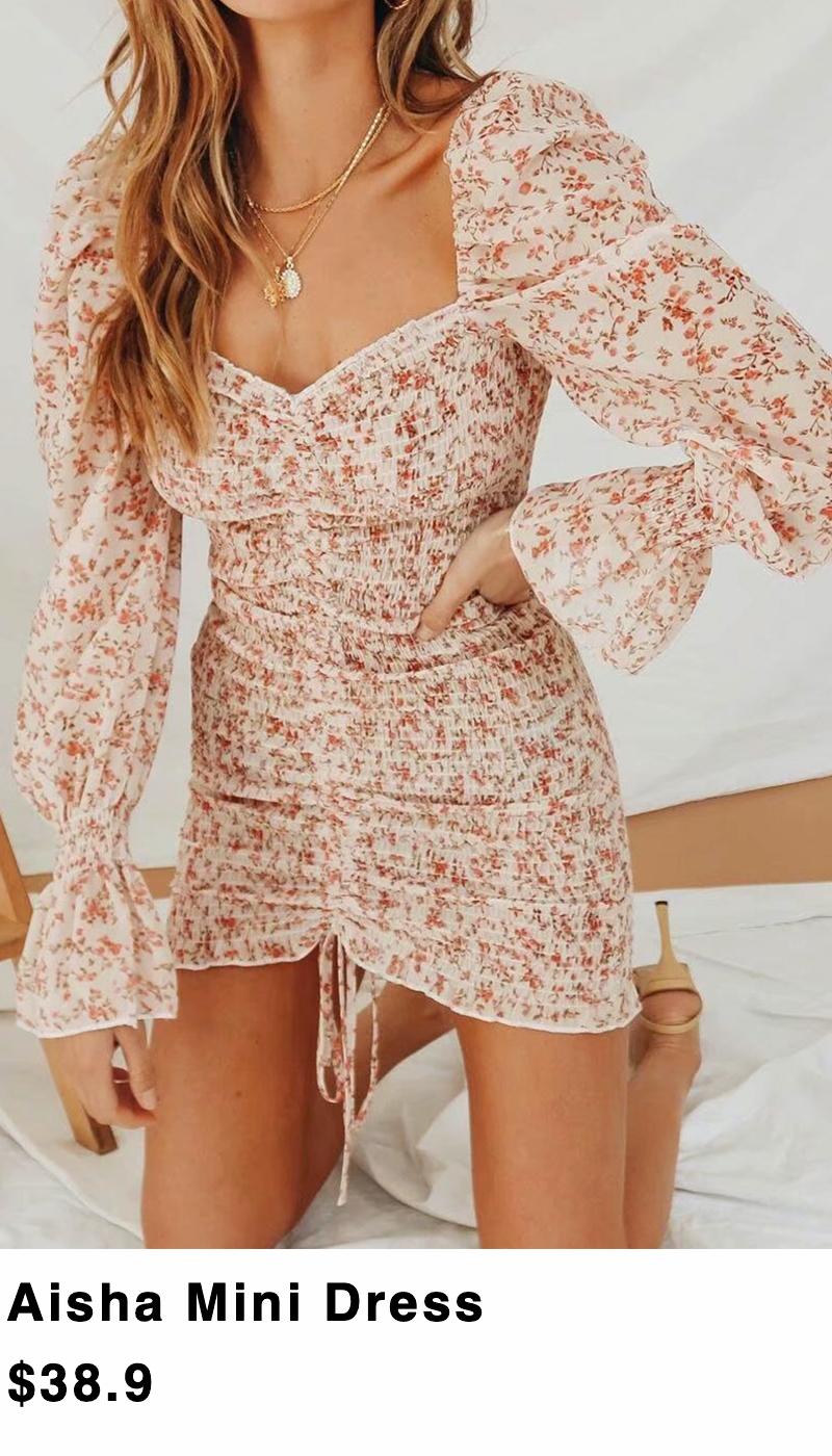 shop the moodss Aisha Mini Dress