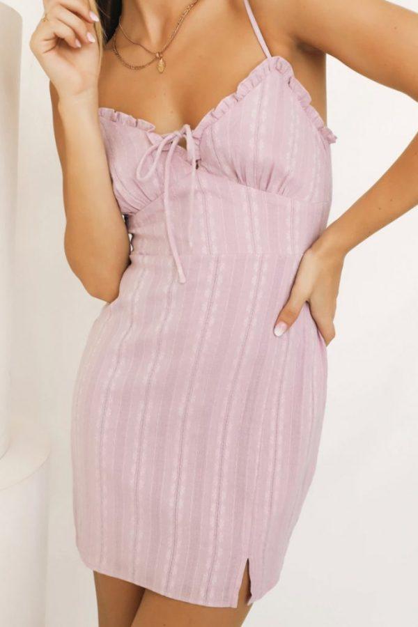 THE MOODSS Sasha Mini Dress-1