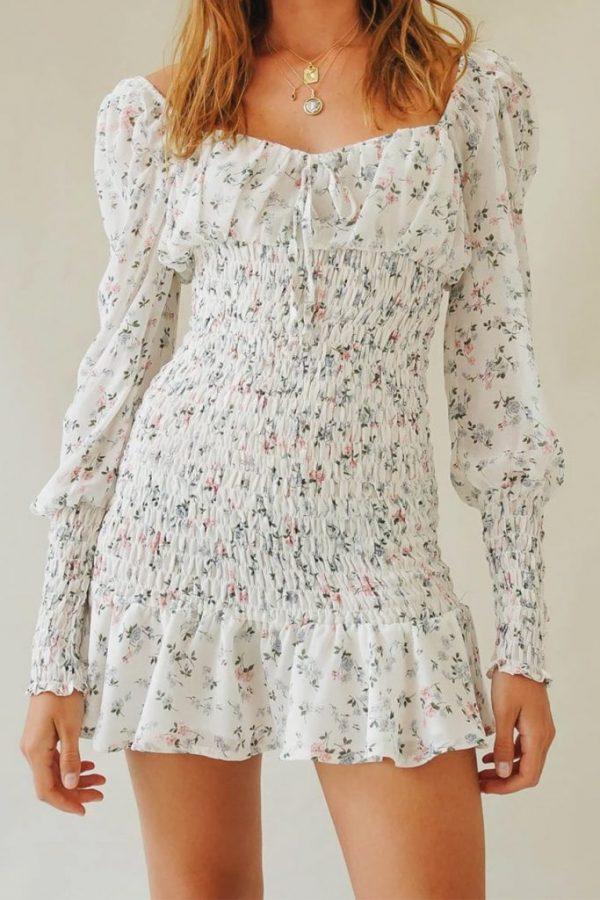 THE MOODSS Zachary Mini Dress-1
