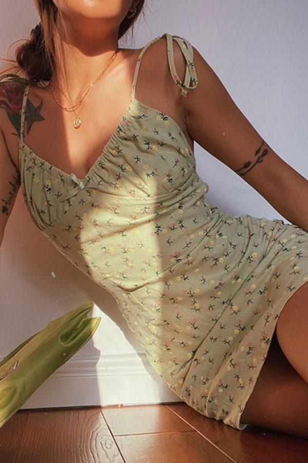 THE MOODSS Adonis Mini Dress-1