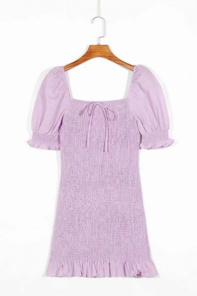 Billie Linen Mini Dress