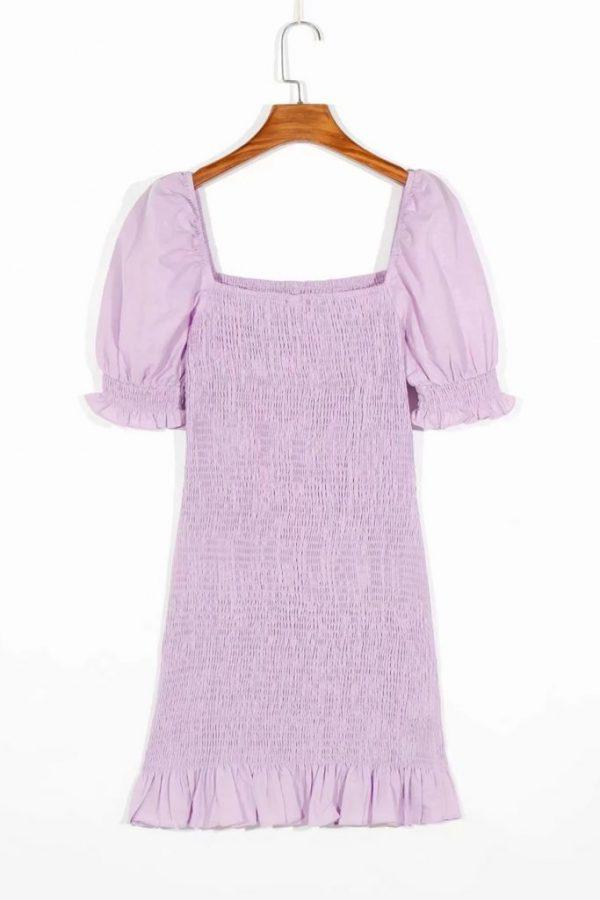 THE MOODSS Billie Linen Mini Dress-2