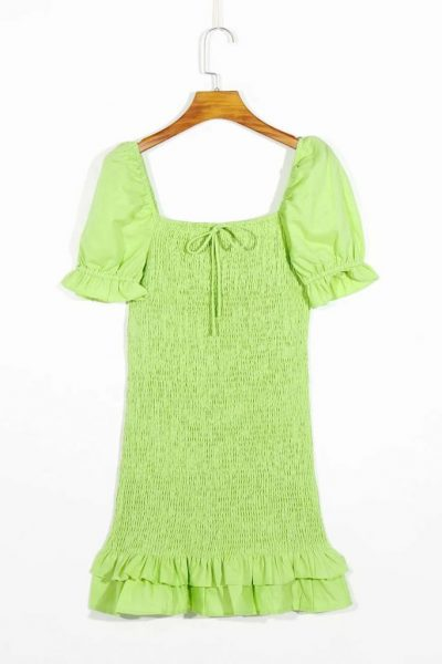THE MOODSS Billie Linen Mini Dress-4