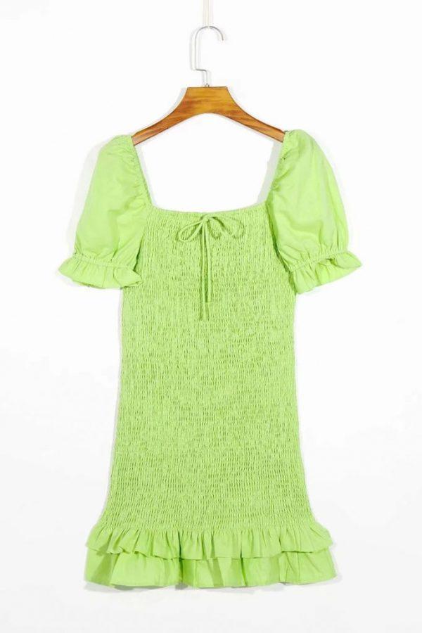 THE MOODSS Billie Linen Mini Dress-4