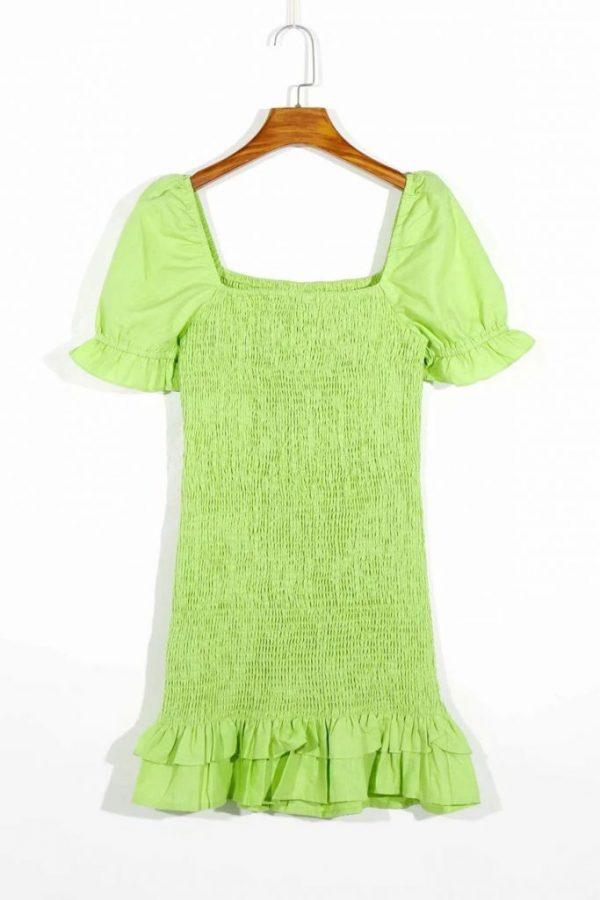 THE MOODSS Billie Linen Mini Dress-5