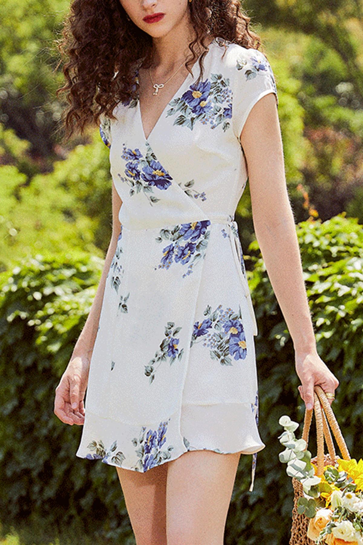 THE MOODSS Gwen Mini Dress-1