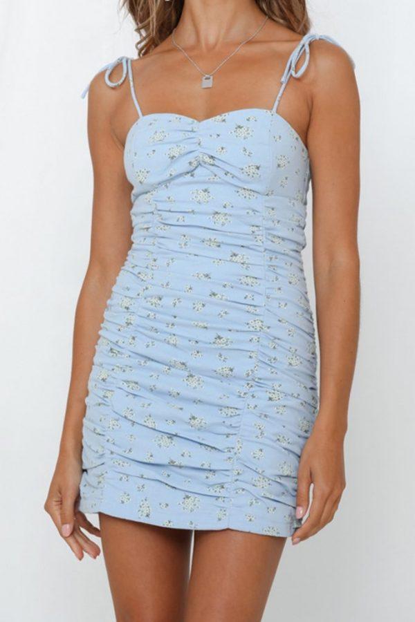 THE MOODSS Nell Mini Dress-1
