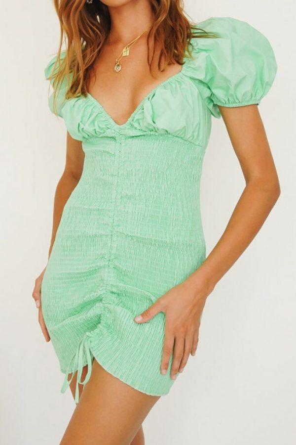 THE MOODSS Preston Mini Dress-2