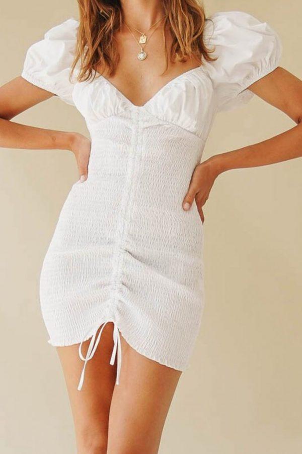 THE MOODSS Preston Mini Dress-5