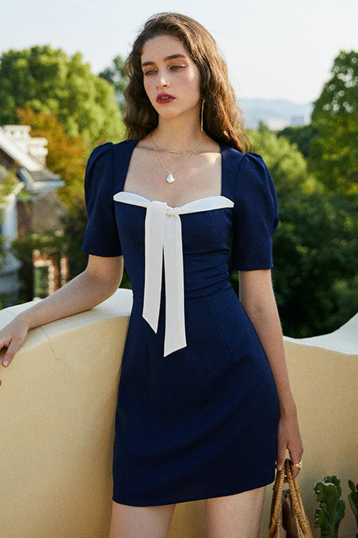THE MOODSS Artemis Mini Dress-1