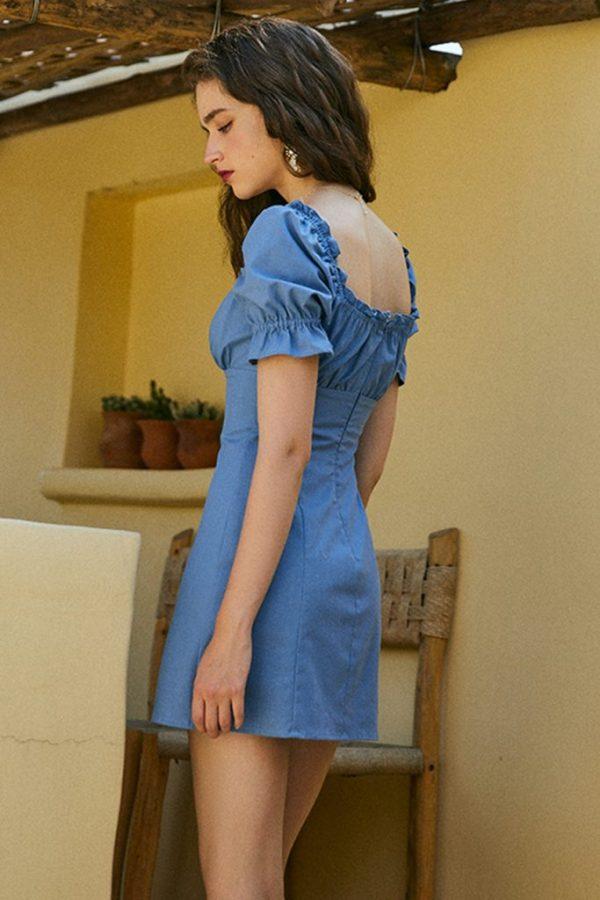 THE MOODSS Christina Mini Dress-5