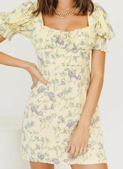 THE MOODSS Waverly Mini Dress-1