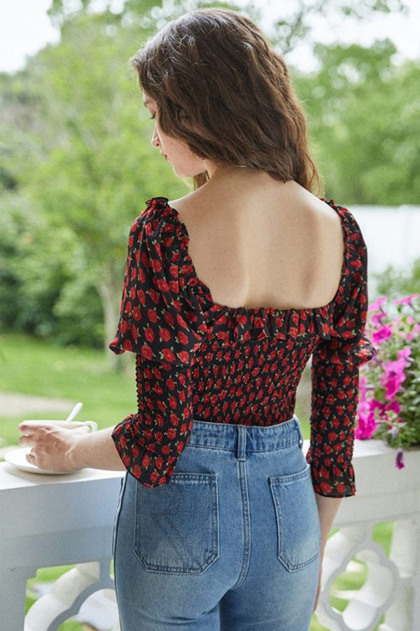 THE MOODSS Wild Rose Top-3