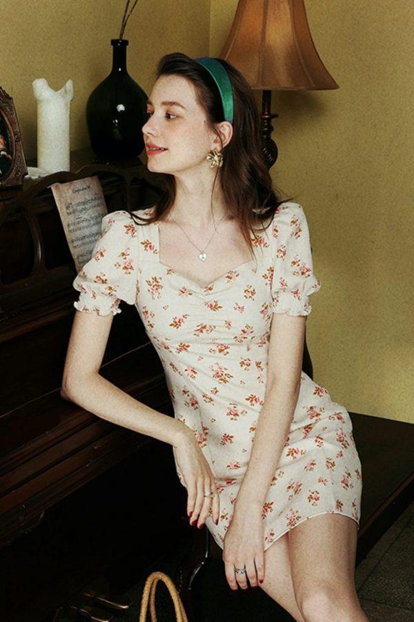 THE MOODSS Artemis Mini Dress-2