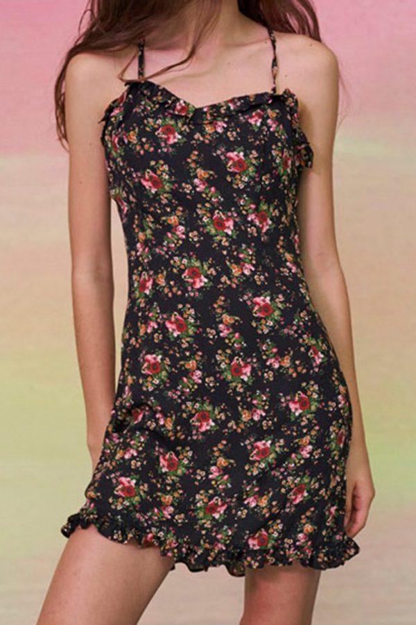 THE MOODSS Percy Mini Dress-1