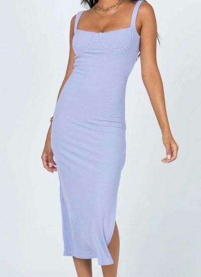THE MOODSS Adriel Midi Dress-1