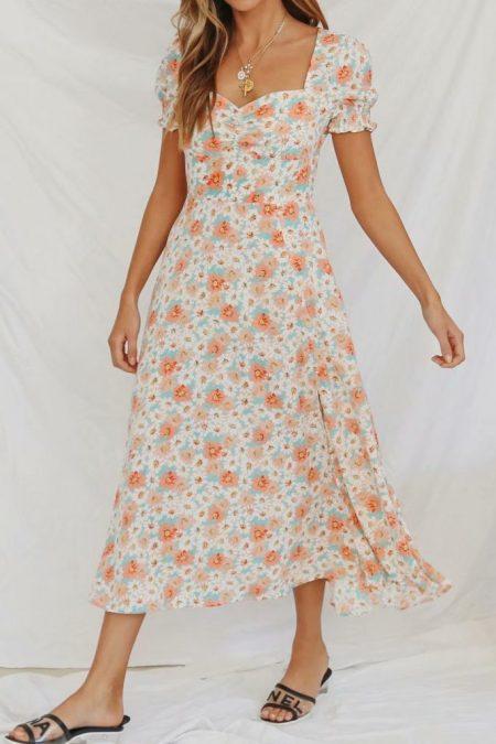 THE MOODSS Angus Midi Dress-1