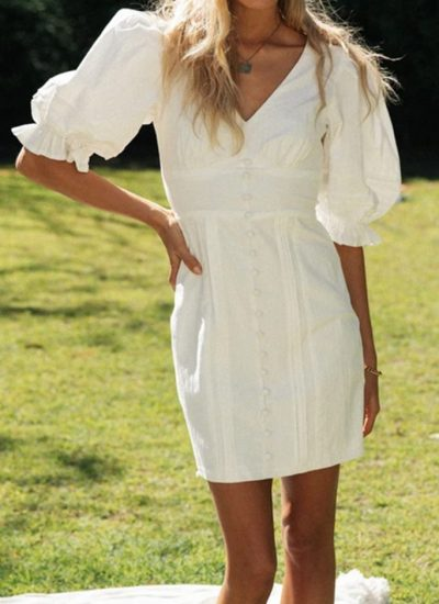 THE MOODSS Blaise Mini Dress-1