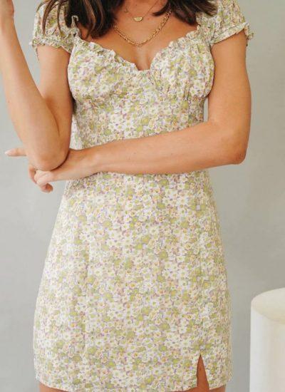 THE MOODSS Calliope Mini Dress-1