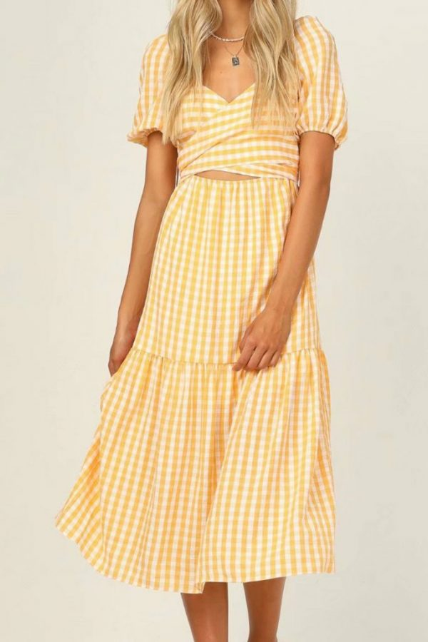 THE MOODSS Cecilia Midi Dress-1
