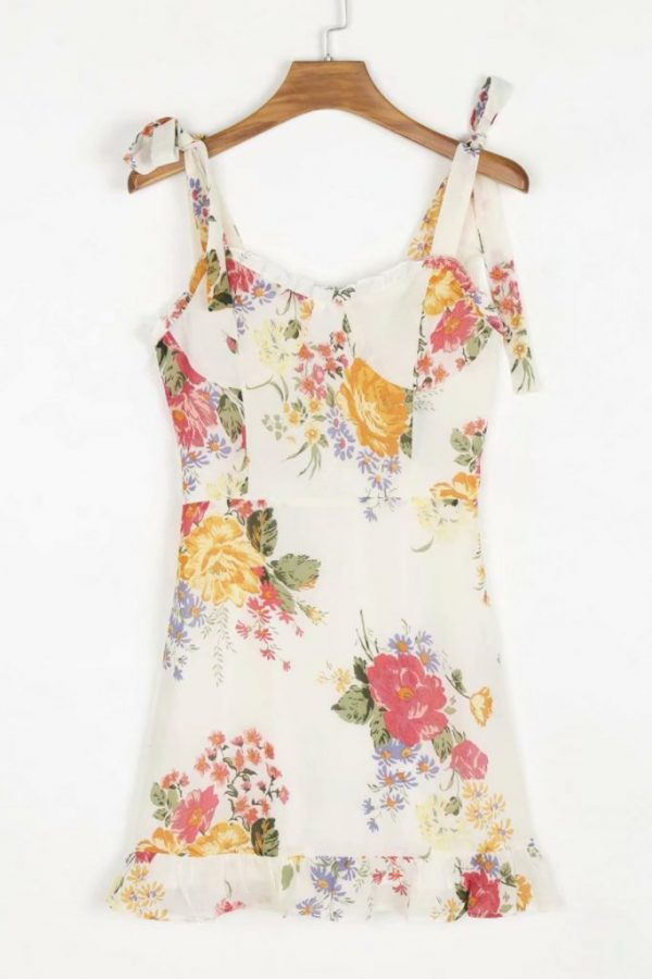 THE MOODSS Clementine Mini Dress-1