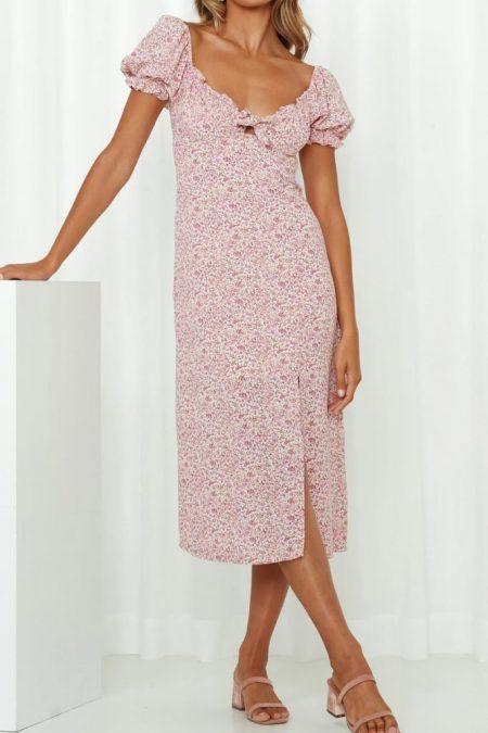THE MOODSS Eamon Midi Dress-1